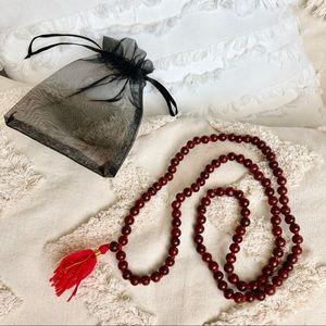 ROSEWOOD 108 Bead Japa Mala for Mantra Yoga